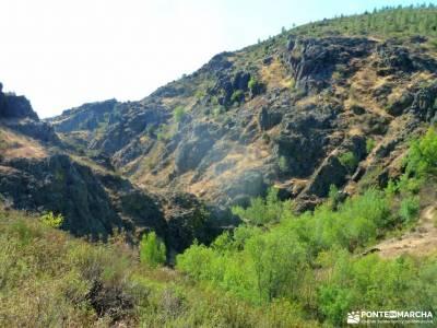 Atazar-Meandros Río Lozoya-Pontón de la Oliva-Senda Genaro GR300;tejo de barondillo fotos de embal